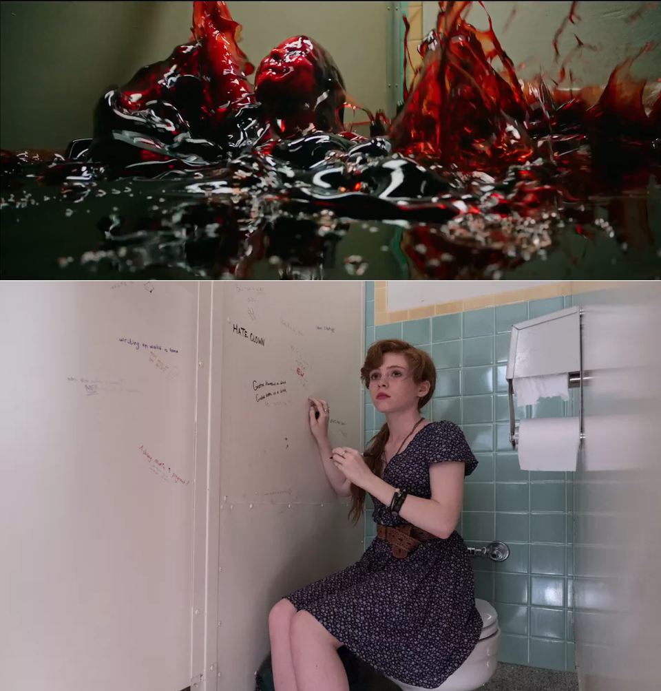 bev bathroom 27 Takeaways from It: Chapter Twos Teaser Trailer