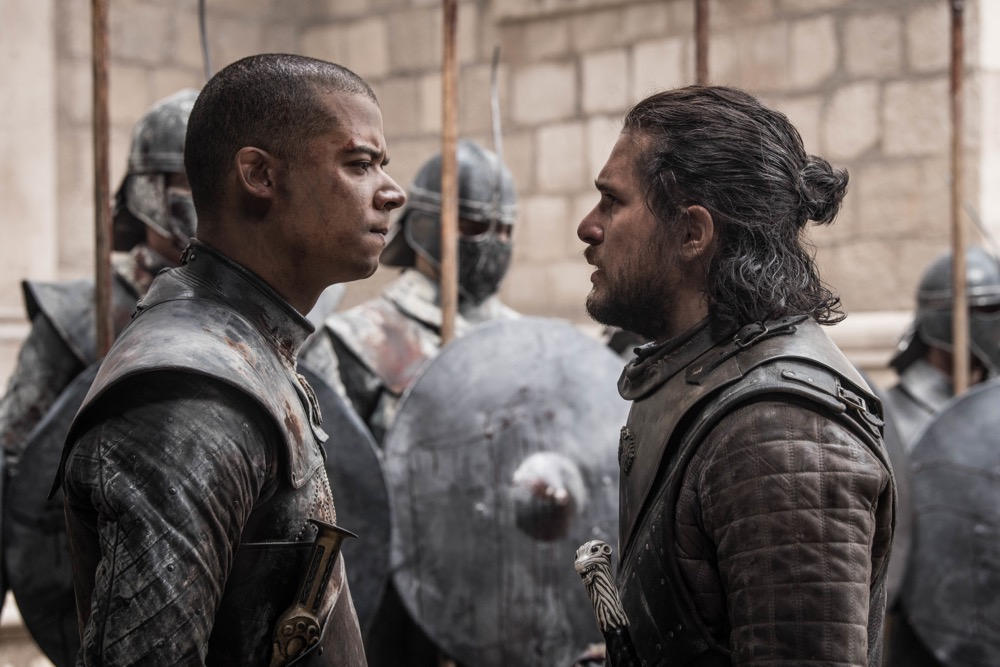 Jon Snow, Grey Worm, Game of Thrones, HBO, Final Season