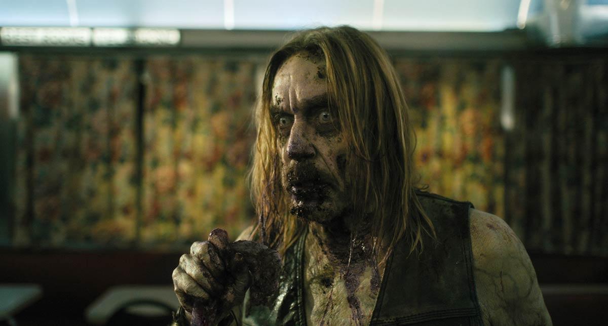 Iggy Pop as a zombie in Dead Don't Die