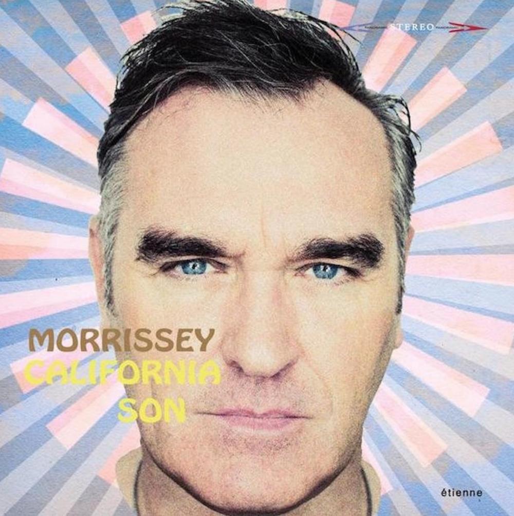 morrissey california son artwork album Morrissey unveils new covers album California Son: Stream