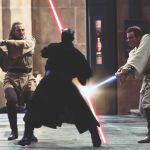star wars episode I the phantom menace fight darth maul