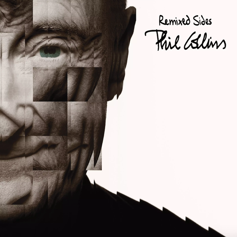 phil collins remixed sides album cover artwork