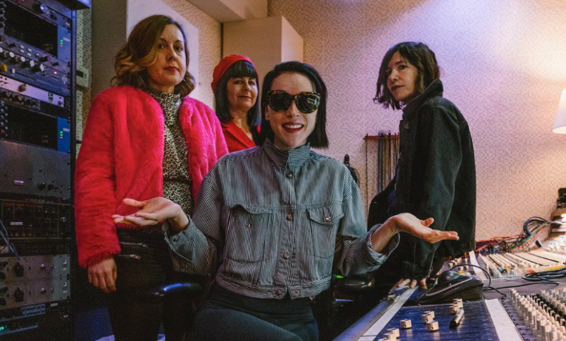sleater kinney st vincent hurry on home new song release center won't hold album announcement