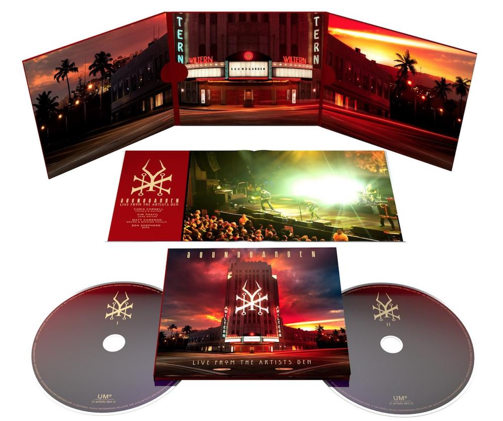 soundgarden live album artists den 2cd Soundgarden announce new live album and concert film