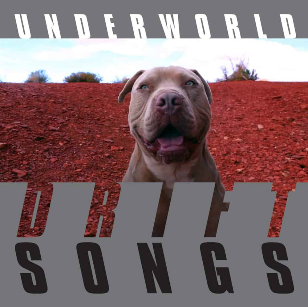 underworld drift songs album artwork cover Underworld announce new album, DRIFT Series 1, share Listen To Their No: Stream