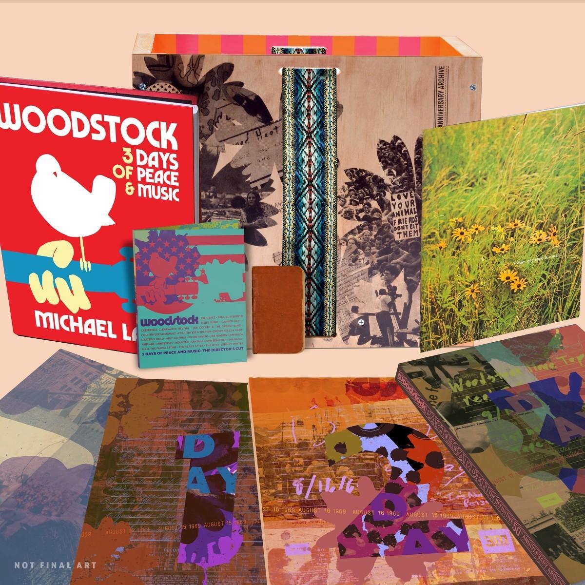 woodstock 50 box set