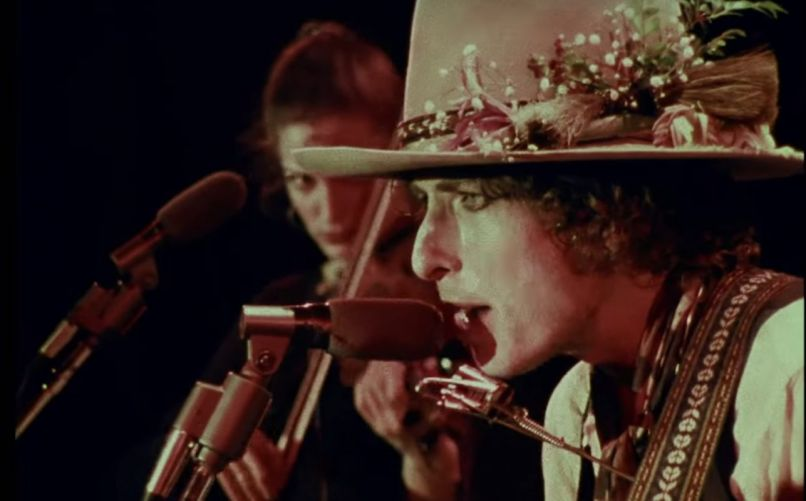 Bob Dylan in Rolling Thunder Revue