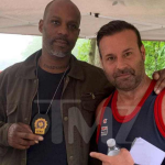 DMX with director Steve Stanulis