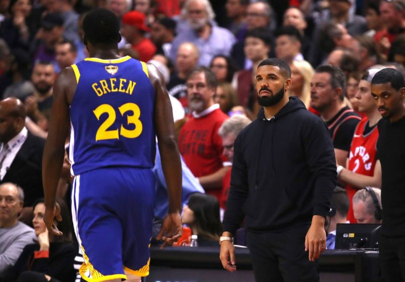Drake vs. Golden State Warriors