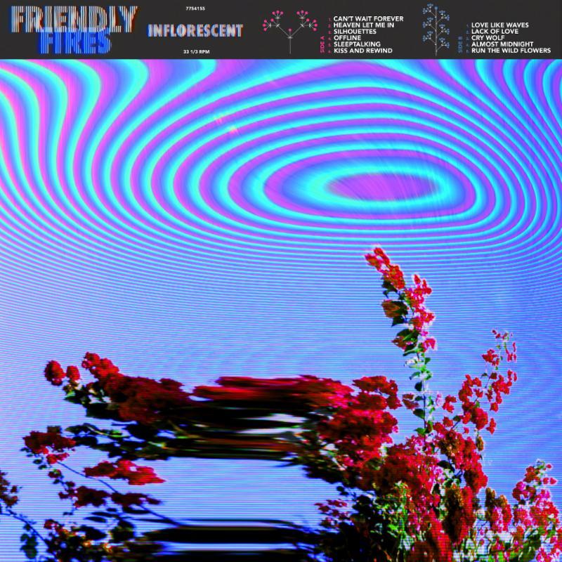 Friendly Fires' Inflorescent album cover