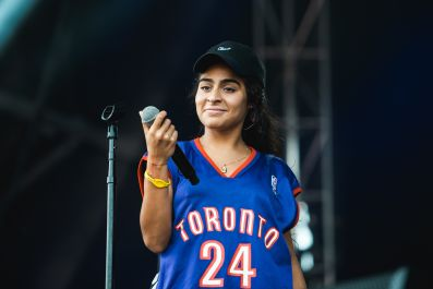 Jessie Reyez, photo by Julia Drummond Governors Ball 2019