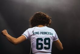 King Princess, photo by Julia Drummond Governors Ball 2019