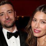 Jessica Biel with husband Justin Timberlake