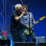 Johnny Marr Bernard Sumner Electronics Get The Message Reunite on stage new order