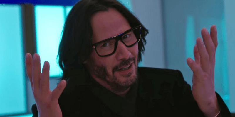 Keanu Reeves marvel cinematic universe kevin feige always be my maybe