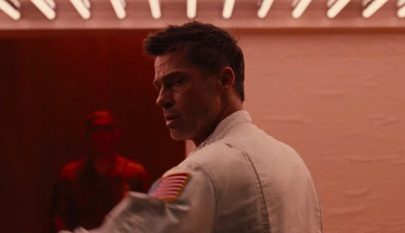 Brad Pitt in Ad Astra (Fox)