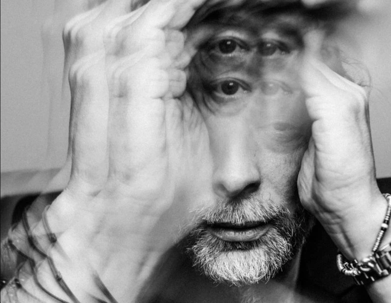 Thom Yorke Anima solo album announcement, photo by Alex Lake