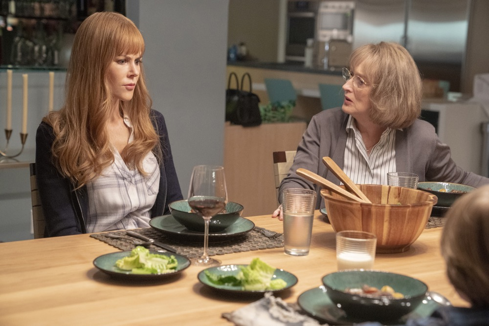 Nicole Kidman and Meryl Streep in Big Little Lies