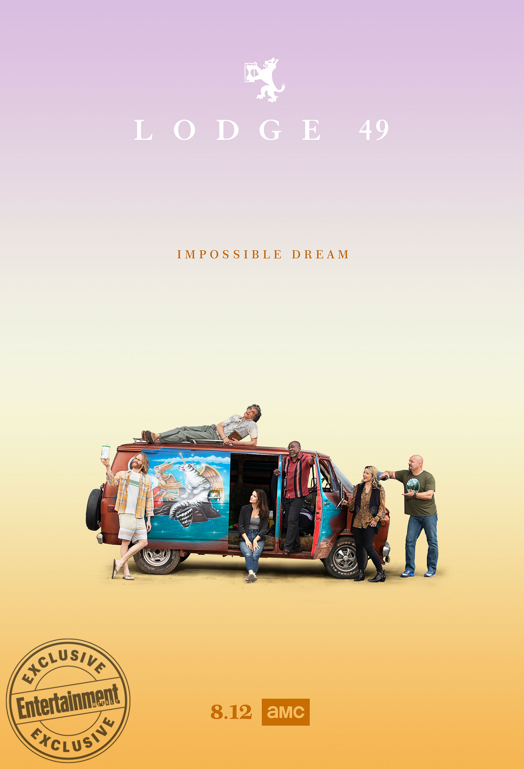 lodge 49 season two poster 2