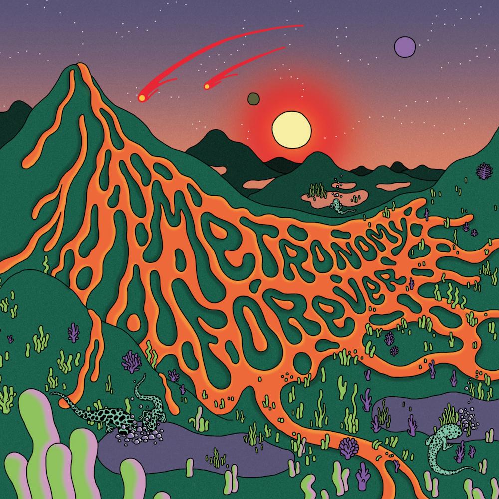 metronomy forever album cover artwork Metronomy announce new album, Metronomy Forever, shared Salted Caramel Ice Cream: Stream