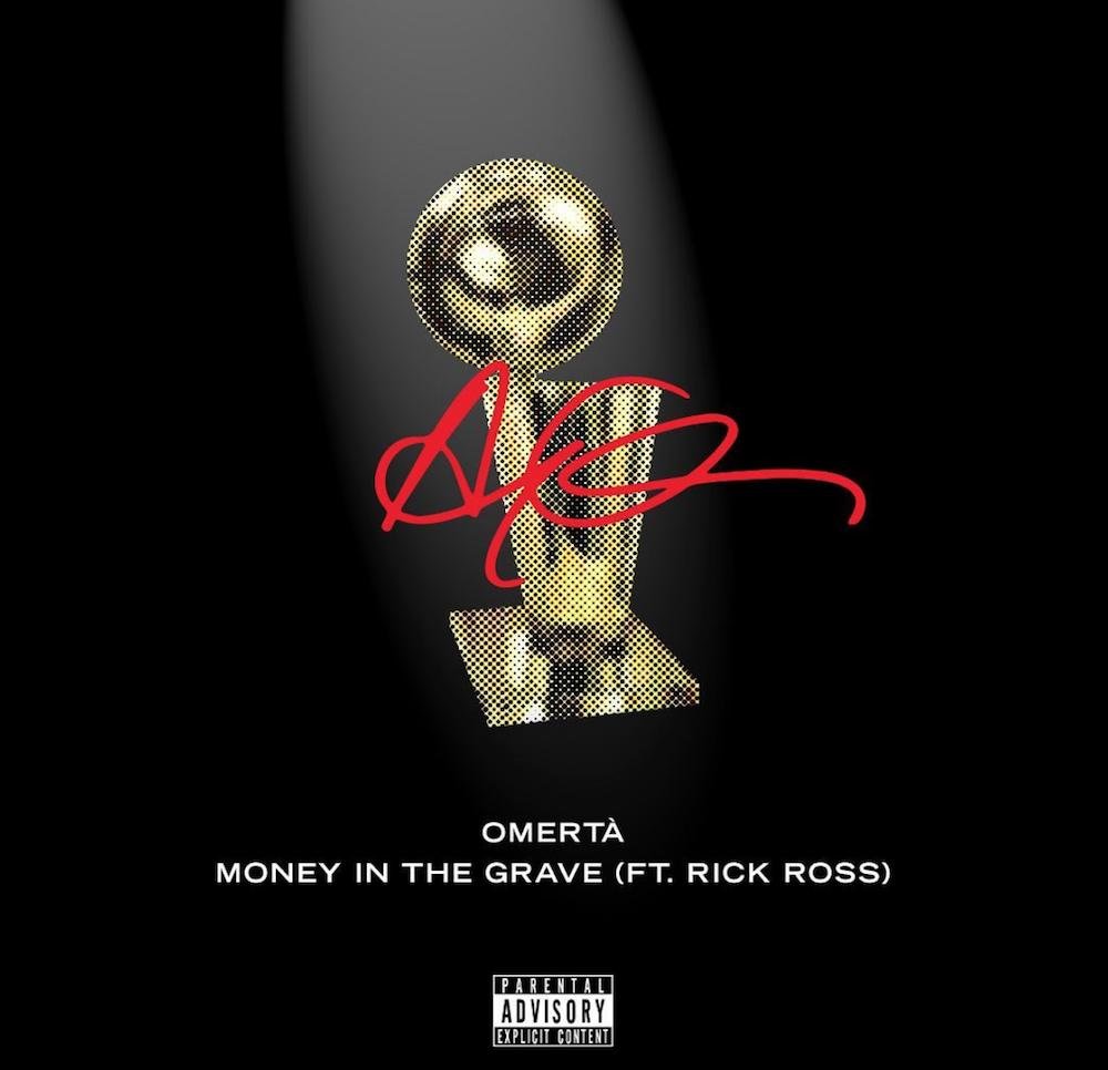 omerta money in grave drake songs release stream new music Drake celebrates the Toronto Raptors with new songs Omertà and Money in the Grave: Stream