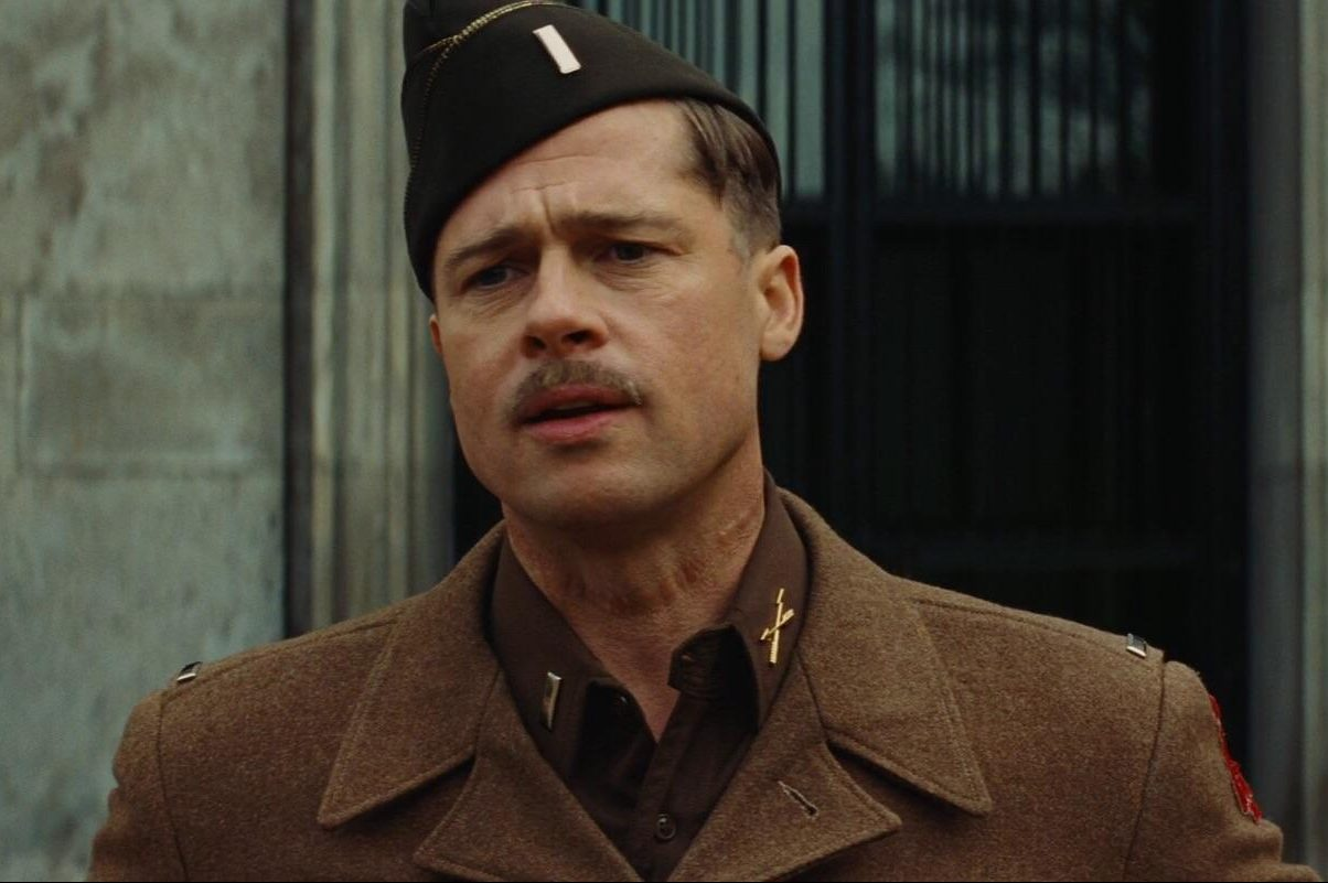 brad pitt inglorious basterds quentin tarantino movie