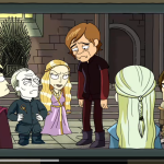 Game of Thrones reference in Rick and Morty (Adult Swim)