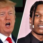 Donald Trump and ASAP Rocky