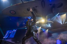Iron Maiden perform at Barclays Center in Brooklyn