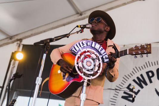 J.S. Ondara Newport Folk Festival 2019 Ben Kaye