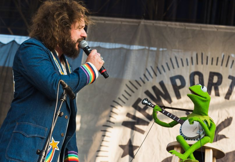 Jim James Kermit the Frog If I Had a Song Newport Folk Festival 2019 Ben Kaye-1 copy