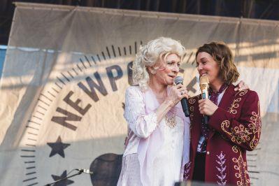Judy Collins and Brandie Carlile The Collaboration Newport Folk Festival 2019 Ben Kaye