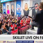 Skillet on Fox & Friends