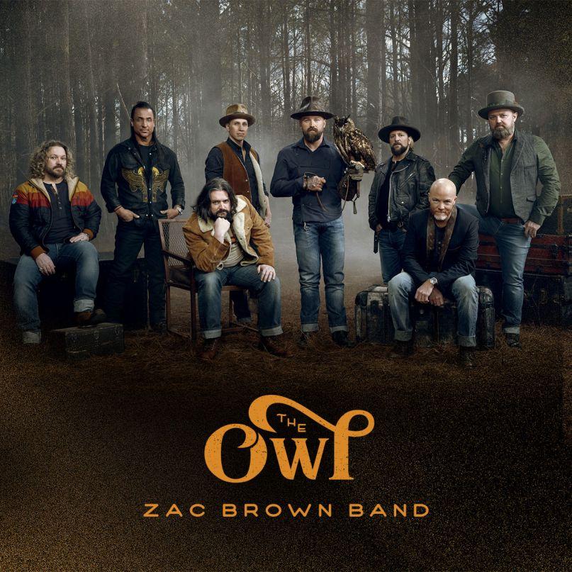 Zac Brown Band The Owl artwork