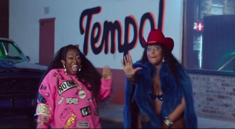 lizzo missy elliott tempo music video