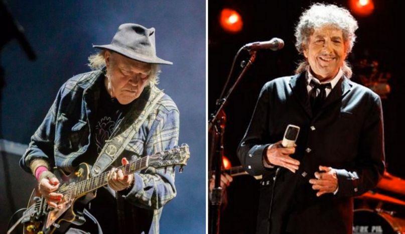 Neil Young x Bob Dylan