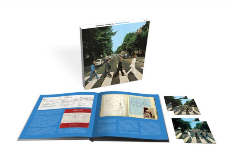 50th anniversary Abbey Road box set by The Beatles