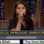 Alessia Cara sings as Billie Eilish on Fallon