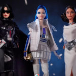 Barbie Star Wars mattle dolls