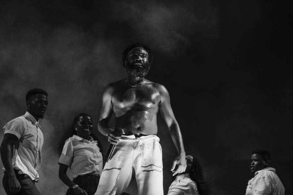 Childish Gambino at Lollapalooza 2019, photo by Greg Noire