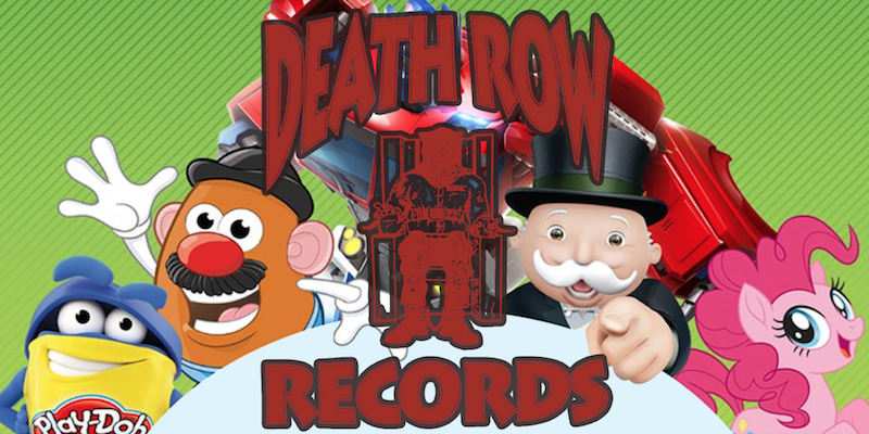 Death Row Records Hasbro