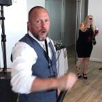 Suffocation legend Frank Mullen at his wedding reception
