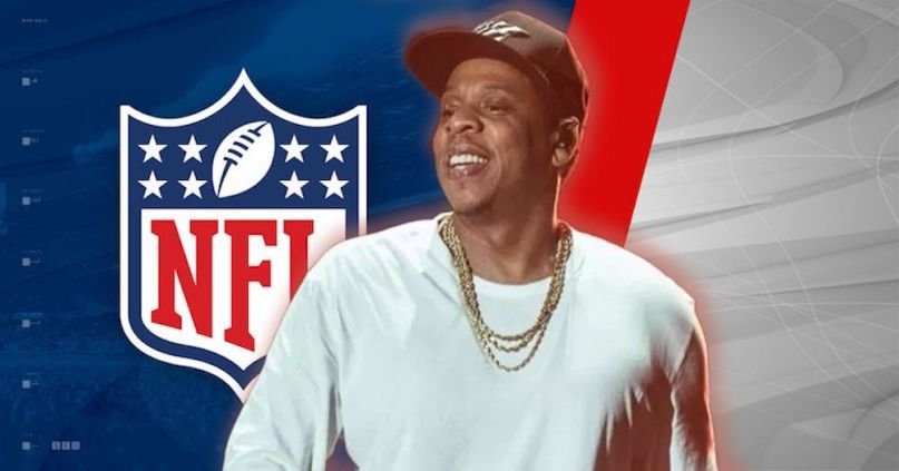 JAY-Z NFL Roc Nation Partnership live music entertainment strategist social initiatives Colin Kaepernick deal