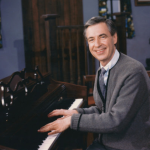 Mister Rogers, photo courtesy of The Fred Rogers Company It's Such a Good Feeling Best of CD Album Johnny Costa
