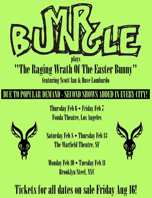 Mr Bungle tour 2019
