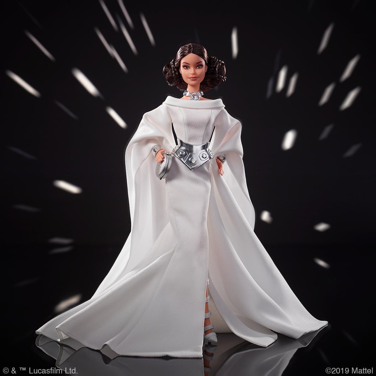 Princess Leia Star Wars Barbie Barbie gets into cosplay with new Star Wars line
