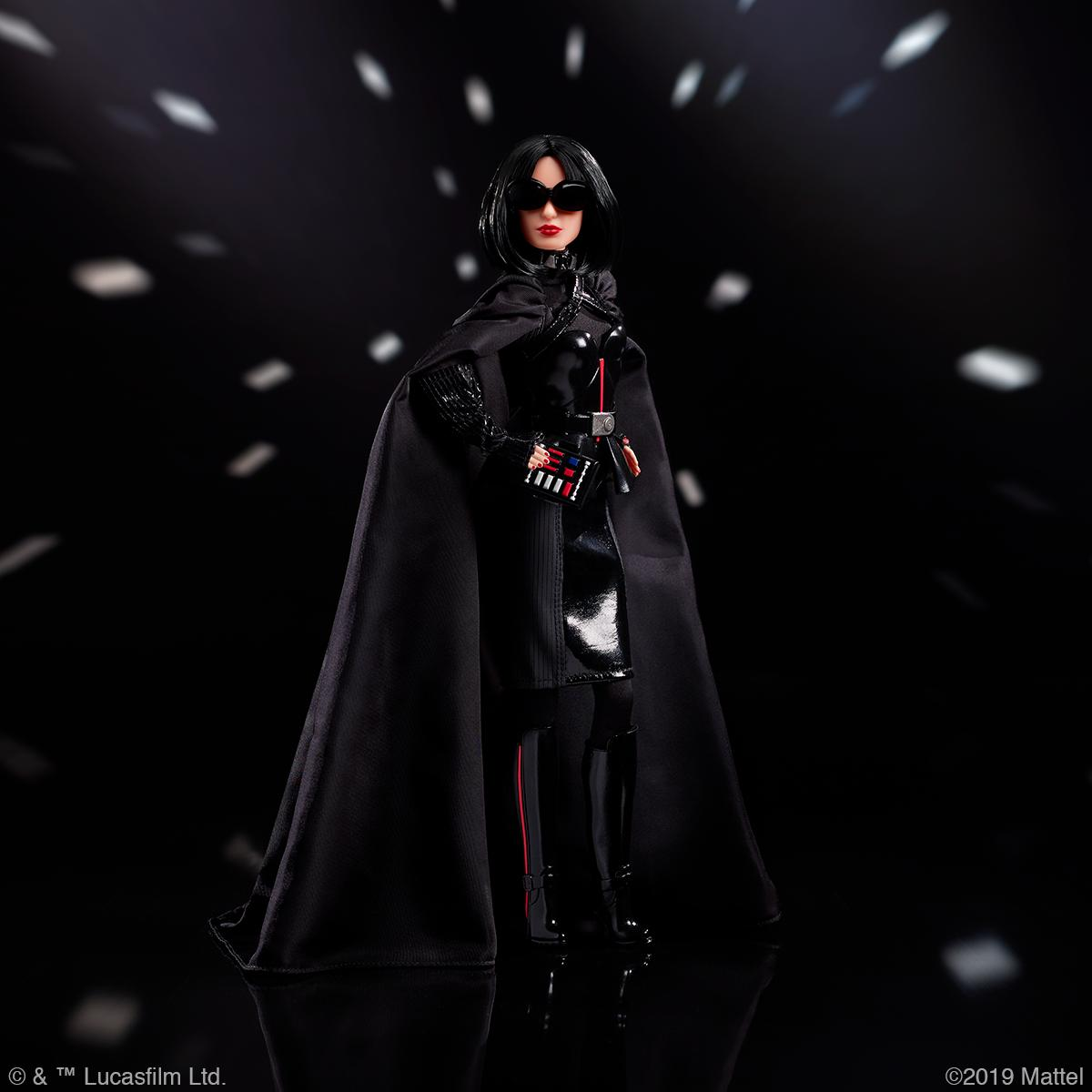 Star Wars Barbie Darth Vader Barbie gets into cosplay with new Star Wars line