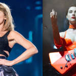 "Taylor Swift and St. Vincent co-write new song ""Cruel Summer"" Lover, photos by David Brendan Hall and Amy Price"