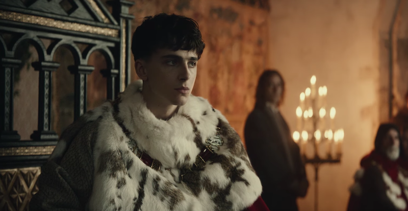The King Trailer Netflix Timothee Chalamet