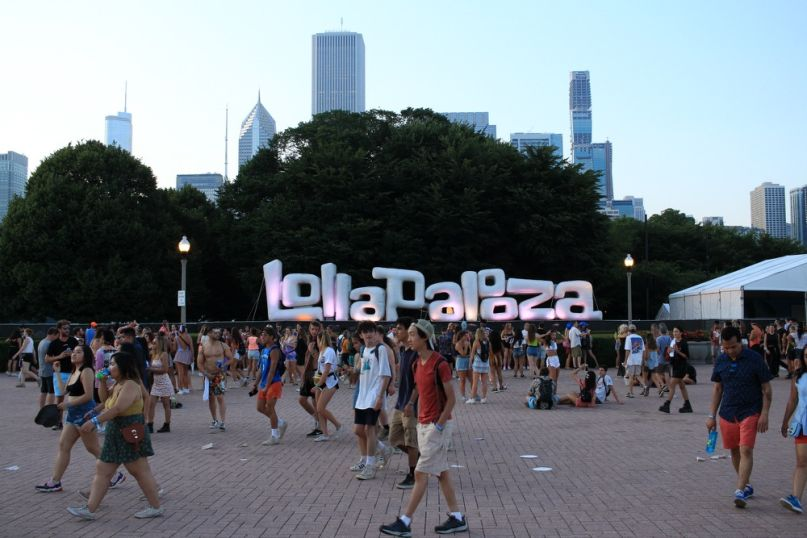 Lollapalooza 2019, photo by Heather Kaplan
